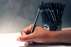 These Studio Museum in Harlem No. 2 pencils in matte black are perfect for everything from doodling to note taking. $1