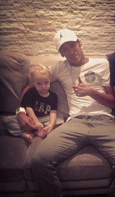 Neymar & son