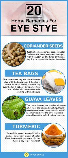 26 effective home remedies to get rid of eye stye