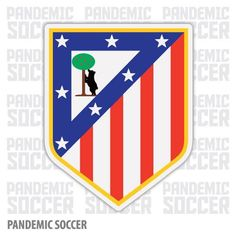 Atletico Madrid Spain La Liga Vinyl Sticker Decal