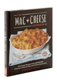 Mac & Cheese Cookbook | Mod Retro Vintage Books | ModCloth.com