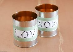 Learn how to make an easy upcycled tin lantern from a tin can! These DIY tin can lanterns are perfect for a rustic wedding or Valentine's Day. Diy Wedding Hangers, Tin Can Lanterns, Easy Valentine Crafts, Valentines, Diy Dog Crate, Tin Can Crafts, Jewelry Organizer Wall, Diy Baby Gifts, Shops