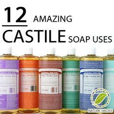 Castile Soap Uses When I was pregnant w/ my first, I was struck w an allergy to toothpastes... I used Dr Bronner's peppermint brand to brush my teeth. Different, but great!