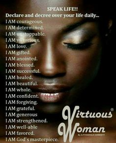Positive affirmations, speak life to your soul. Motivacional Quotes, Great Quotes, Inspirational Quotes, Gemini Quotes, Qoutes, Uplifting Quotes, Tears Quotes, Diva Quotes, Godly Quotes