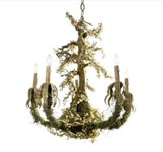 amazing... Maybe for an enchanted forest themed room for girls?