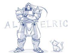 Alphonse Elric Armor Sketch Fullmetal Alchemist Edward, Fullmetal Alchemist Brotherhood, Marvel Characters, Anime Characters, Manga Anime, Anime Art, Learn To Sketch, Trippy Drawings, Alphonse Elric