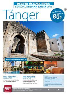 Semana Santa en Tanger. Hotel El Oumnia Puerto, desde 80€ barco+ traslados+ desayuno ... ultimo minuto - http://zocotours.com/semana-santa-en-tanger-hotel-el-oumnia-puerto-desde-80e-barco-traslados-desayuno-ultimo-minuto/