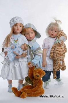 Удивительные куклы Хильдегард Гюнцель