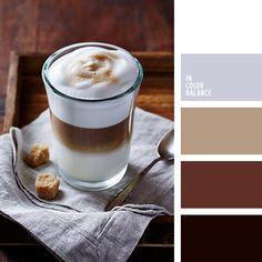белый, деревянный цвет, коричневый, кофейные тона, оттенки коричневого, пастельный коричневый, серебрянный, серый, стальной, темно-коричневый, цвет дерева, цвет капучино, цвет кофе, цвет красного дерева, цвет серебра, цвета осени 2018.