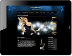 Moet Hennesy website by www.formlab.nl
