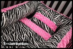 I heart this but it seems like a baby would go crazy in this zebra prison!    But I like it...    I don't even know if I'm having a girl LOL