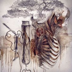 «Relic / Reliquia  #anatomy #art #illustration #draw #photography #artist #sketch #instaart #beautiful #gallery #painting #nature #museum #muscle #follow…»