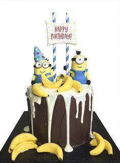 Minions Birthday Cake                                                                                                                                                      More