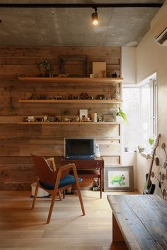 リフォーム・リノベーションの事例|ワークスペース|施工事例No.279間取りを変えず、自然素材でイメージ一新|スタイル工房