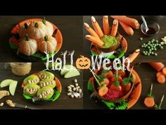 4 Halloween snacks (vegan)   Made by Choices