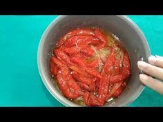 Conserva de pimenta já fica pronta na hora - YouTube Sauces, Shrimp, Meat, Youtube, Food, Pickles, Onions, Hardboiled, Spices