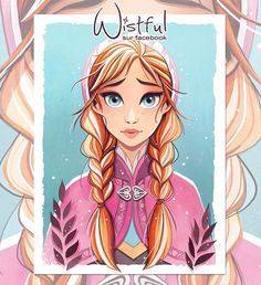 Trendy Ideas For Quotes Disney Frozen Anna Disney, Frozen Disney, Disney Fan Art, Disney Girls, Disney Love, Disney Magic, Arendelle Frozen, Disney Princess Drawings, Disney Princess Art