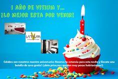 #aniversario Vitium #oferta #felizcumpleaños #cava #gratis