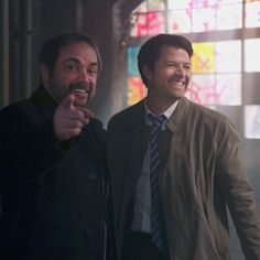 Crowley and Castiel SPN Finale