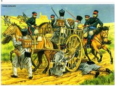 Cossack raiding party