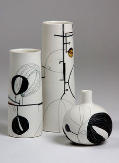 Tania Rollond – vases and bottle