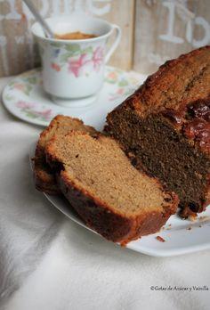 Gotas de Azúcar y Vainilla: Pastel de café y yogurt Banana Bread, Cake Recipes, Sweets, Cooking, Desserts, Food, Carmel Cake, Cheesecake Recipes, Vanilla