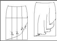 Como hacer una falda con capa - El costurero de Stella