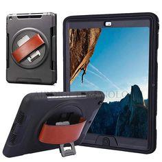For Mini iPad Original Armor Shockproof Heavy Duty Silicone Hard Case Stand Smart Cover For iPad Mini 1 2 3 Retina