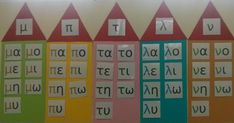 New Doc 36_1 Greek Alphabet, Greek Language, Special Needs Kids, School Pictures, Teaching Tips, Educational Activities, Classroom Decor, Special Education, Literacy