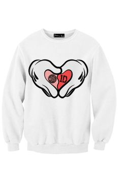 I Heart 5SOS & 1D Sweatshirt