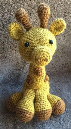 Free giraffe amigurimi pattern