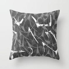 Shades Of Greys  Throw Pillow