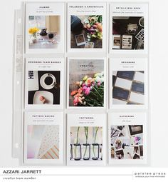 Good morning!! Kelly here and I am excited to share with you some more creative team inspiration, this time using the 4x6 photo templates no. 4 and the minimalist squared, trading card sized, and t...