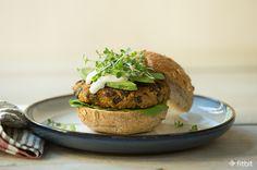 Healthy Recipe: Veggie Burgers with Sweet Potato, Black Beans & Quinoa – Fitbit Blog