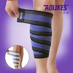 1Pc AOLIKES 90cm High Elastic Kneepad Nylon Elbow Leg Bandage Versatile Elastica Running Basketball Sports Safety Tape