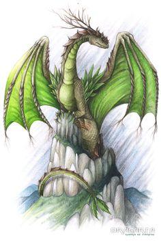 Elements - Earth Dragon by Dragarta