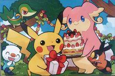 Birthday Pikachu