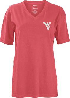 WVU Southcrest V-Neck Tee - Women's