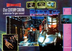 Robocop the ride