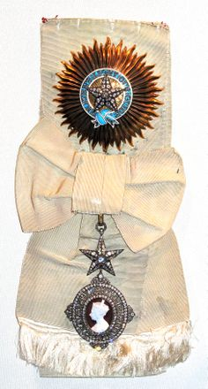 Star and badge of a Knight Grand Commander of the Order of the Star of India, awarded to Field Marshal the Earl Wavell.