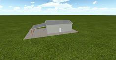 3D #architecture via @themuellerinc http://ift.tt/2jpB7fF #barn #workshop #greenhouse #garage #DIY