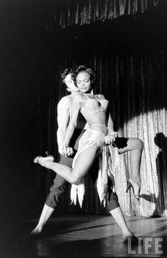 Eartha Kitt photographed by George Silk for Life magazine, 1955.