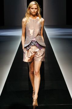 Emporio Armani Spring 2013 Ready-to-Wear Collection Style.com - I love everything about this.