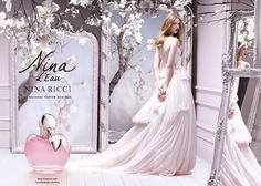 I just love everything about this! {Nina Ricci l Eau Nina Ricci Mon Secret perfume ad campaign}