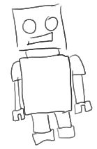 robot dessin facile - Google Search