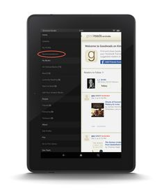 Blog Post: Personalized Book Recommendations Now on Goodreads on the Fire Tablet! (U.S., Canada & Australia)