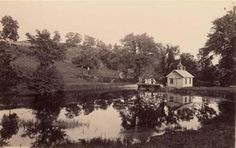 The lake at Mount Holyoke #PlacesofThevonStrassenbergSaga #VSsaga #BluestockingGirl