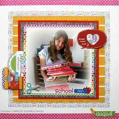 Doodlebug Design Inc Blog: Back to School Layout Inspiration