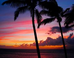 Always a Beautiful Sunset in Maui :]    Google Image Result for http://images.fineartamerica.com/images-medium/kaanapali-sunset-kaanapali-maui-hawaii-michael-bessler.jpg
