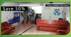 Save 50% on all bookings from #VedantaWakeUp! Website Only.